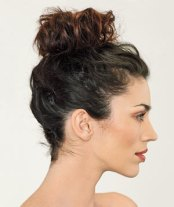 Messy bun for those not so good mornings