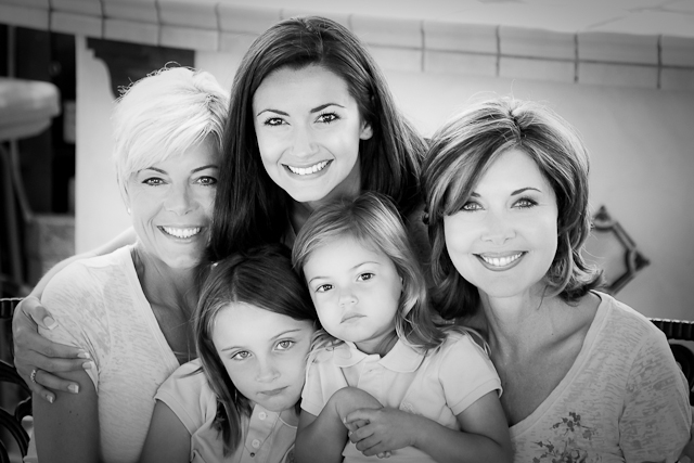 Family, women from generation to generation